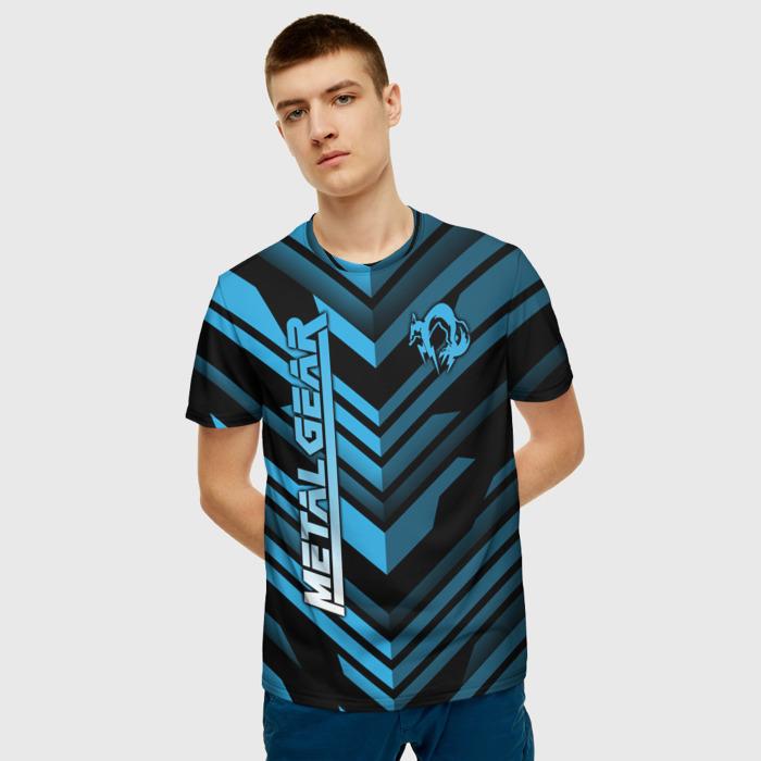 Collectibles Men'S T-Shirt Design Title Metal Gear Merch