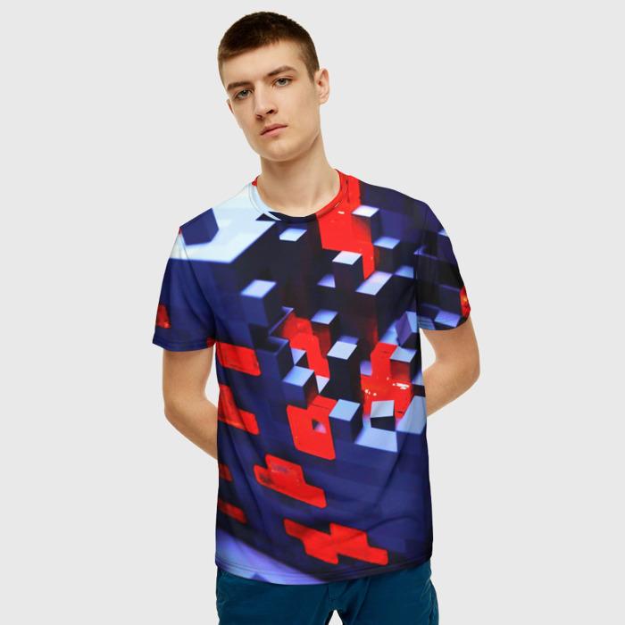 Merchandise Men'S T-Shirt Merch Minecraft Cubes Print