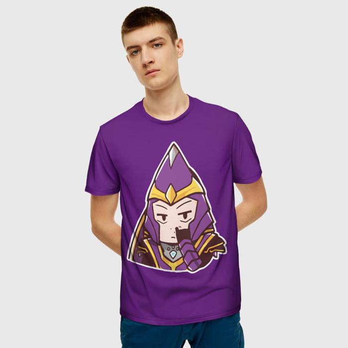 Merchandise Men'S T-Shirt Nortrom Silencer Dota Purple