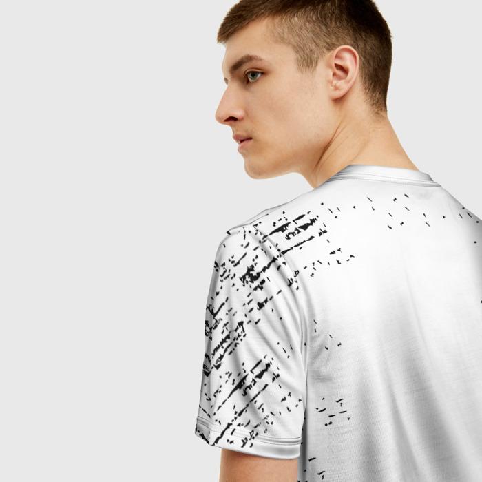 Merchandise Men'S T-Shirt The Last Of Us White Text Merch