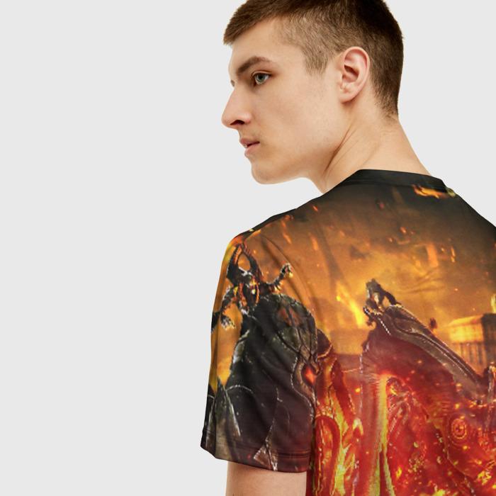 Merch Men'S T-Shirt Gears Of War 5 Footage Game Print