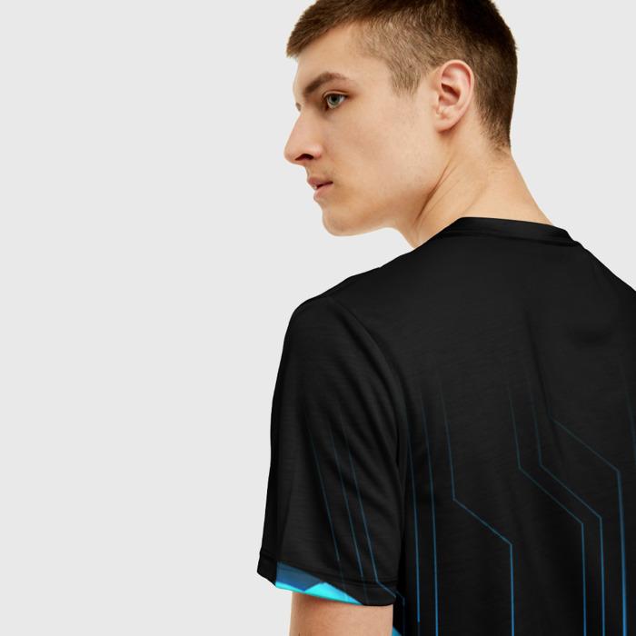 Merch Men T-Shirt Black Stalker Design