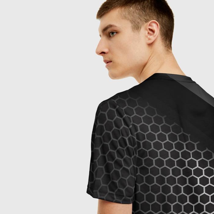 Collectibles Men T-Shirt Print Combs Black Stalker