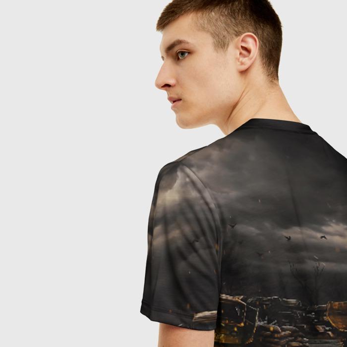 Collectibles Men T-Shirt Text Stalker Scene