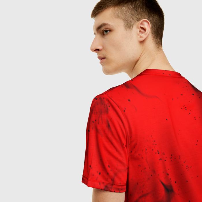 Merch Men'S T-Shirt Game Red Sign Stalker Design