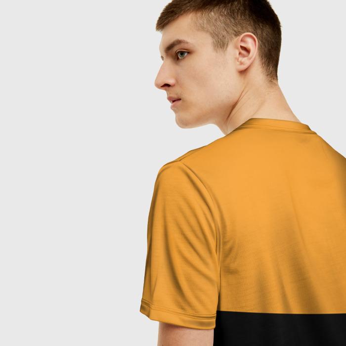 Merch Men'S T-Shirt Game Pubg Orange Design Merch