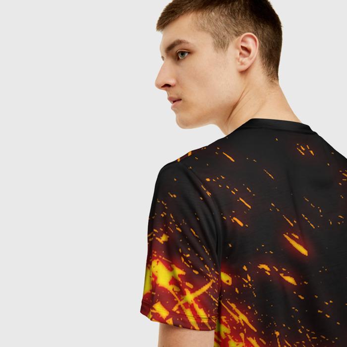 Merchandise Men'S T-Shirt Flame Print Sign Doom Slayer Doom
