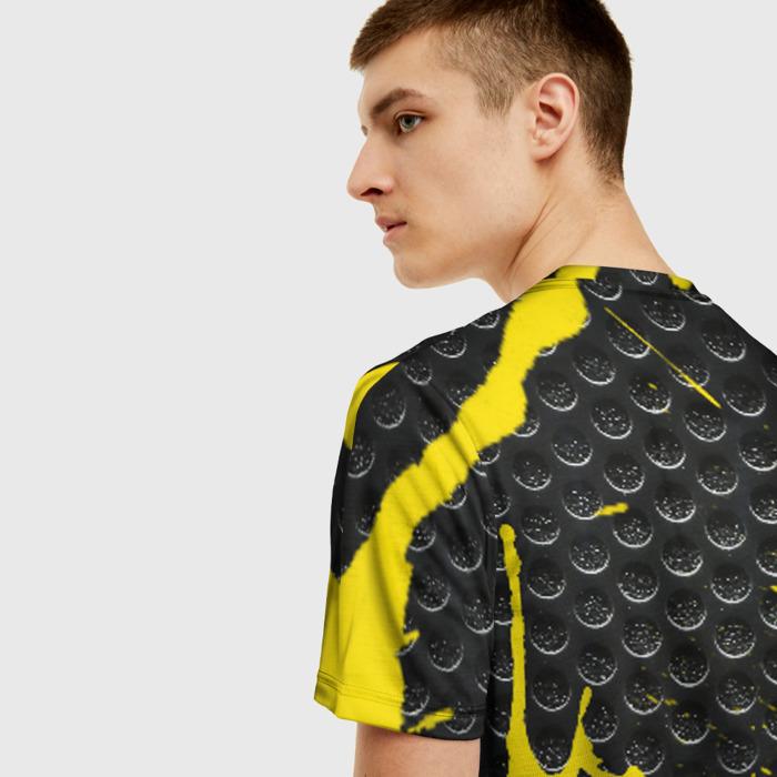 Merch Men'S T-Shirt Pattern Yellow Spot Rainbow Six Siege