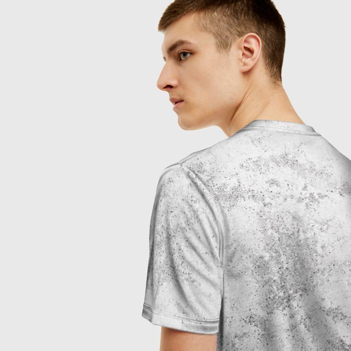 Merch Men'S T-Shirt Emblem Dishonored Print White