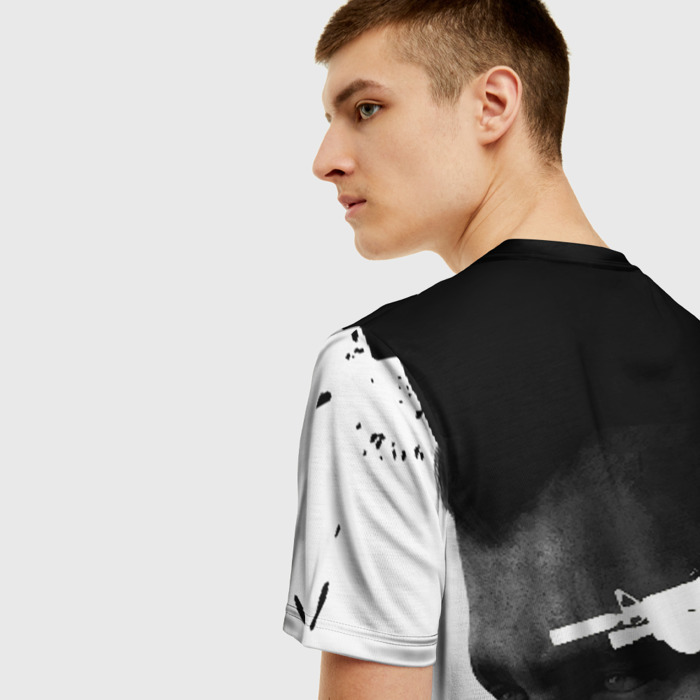 Merch Men'S T-Shirt Portrait Character Print Call Of Duty