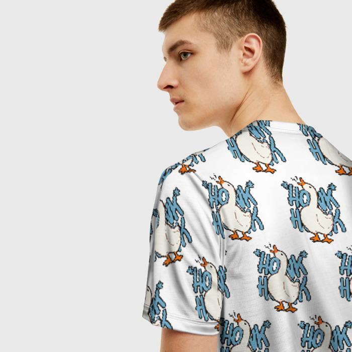 Merch Men'S T-Shirt Pattern White Untitled Goose Game