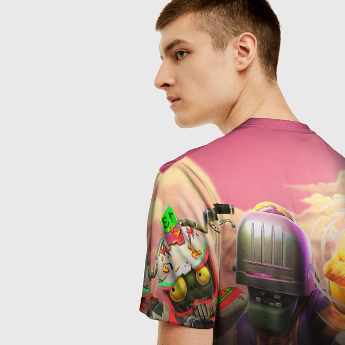 Merch Men'S T-Shirt Design Print Plants Vs Zombies