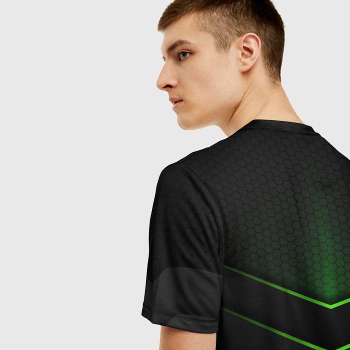 Collectibles Men'S T-Shirt Outline Black Rainbow Six Siege
