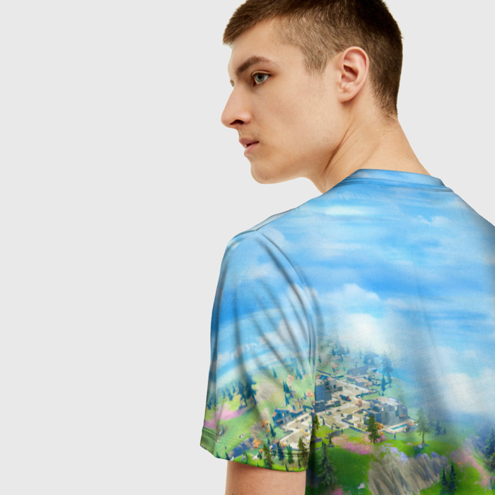 Collectibles Men'S T-Shirt Landscape Print Fortnite Clothes
