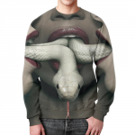 Collectibles American Horror Story Sweatshirt White Snakes