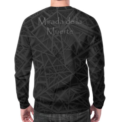 Merchandise Sweatshirt Mirada De La Muerte Skull Print Black
