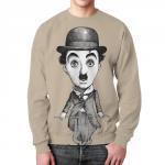 Merch - Charlie Chaplin Sweatshirt Actor Art