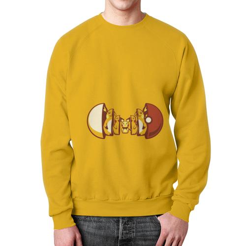 Merch Sweatshirt Pokemon Go Merch Yellow Design