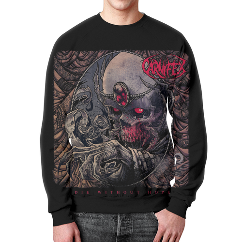 Merchandise Sweatshirt Carnifex Band Die Without Hope Black