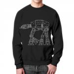 Collectibles At-At Sweatshirt Walker Star Wars