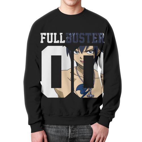 Merchandise Sweatshirt Grey Fullbuster Fairy Tail Black