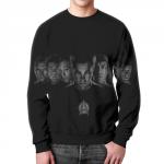Merchandise Sweatshirt Star Trek Beyond Cast Cover