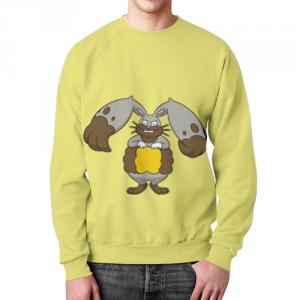 Merchandise - Sweatshirt Pokemon Diggersby Yellow Print