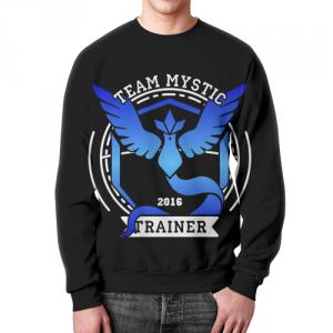 Merchandise - Sweatshirt Pokemon Team Mystic Black