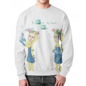 Collectibles - Sweatshirt Breaking Bad You Break My Heart Baby