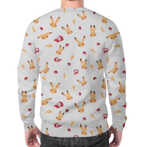 Merch Sweatshirt Pokemon Merch Pattern Print