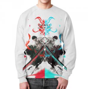Collectibles - Sweatshirt Zoro One Piece Design White