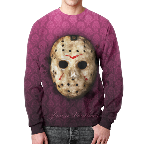 Merch Sweatshirt Jason Voorhees Mask Friday 13Th