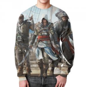 Merch Sweatshirt Assassins Creed Character Edward Kenway Print