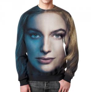 Merch Sweatshirt Game Of Thrones Cersei Portrait Print