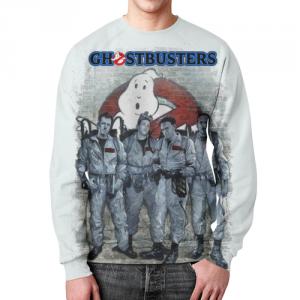 Merchandise Ghostbusters Sweatshirt Fan Art Retro Movie