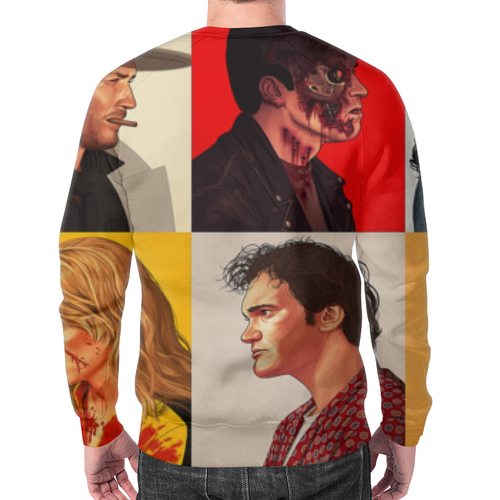 Collectibles Sweatshirt Stars Portraits Print Design