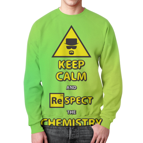 Merch Sweatshirt Breaking Bad Keep Calm And Respect