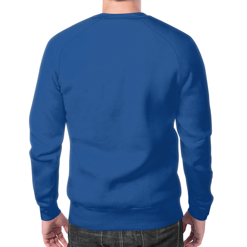 Merch Sweatshirt Pulp Fiction Blue Print Jules