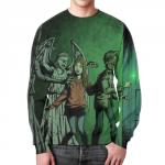 Merchandise Sweatshirt Doctor Who Footage Print Design