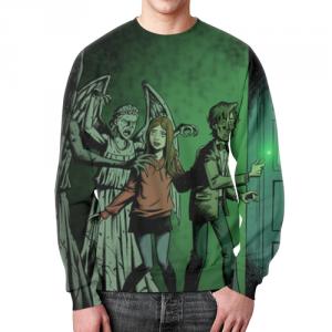 Merch Sweatshirt Doctor Who Footage Print Design