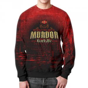 Merchandise Sweatshirt The Dark Elf Of Mordor Red