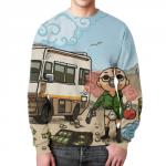Merchandise Sweatshirt Breaking Bad Scene Print Design
