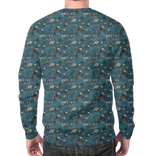 Merch Ships Sea Sweatshirt Design Pattern Clothes
