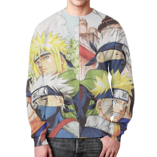 Merch Naruto Sweatshirt Kakashi Sasuke Uchiha