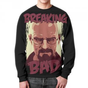 Collectibles - Walter White Sweatshirt Breaking Bad Hero