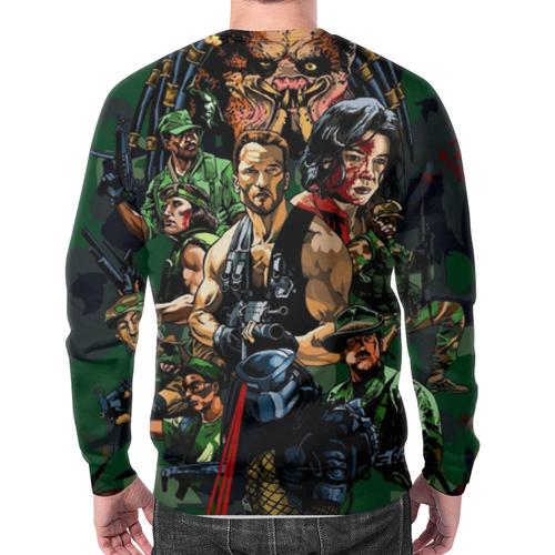 Merchandise Sweatshirt Predator Arnold Schwarzenegger