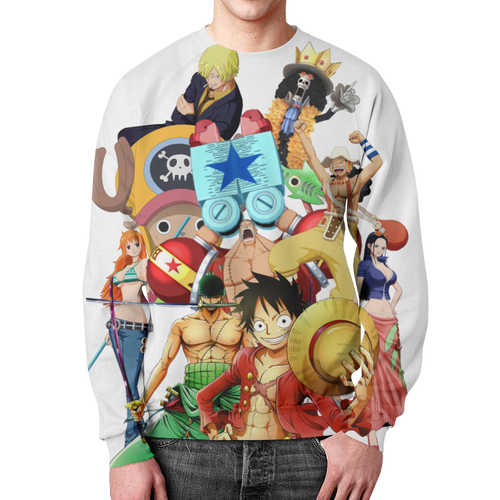 Collectibles One Piece Sweatshirt All Characters