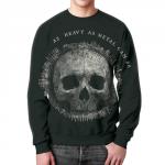 Collectibles - Heavy Metal Sweatshirt Skull Art Skeleton