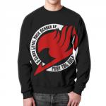 Merch - Sweatshirt Fairy Tail Logo Red Black