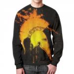 Merchandise Sweatshirt 300 Movie Spartans Helmet